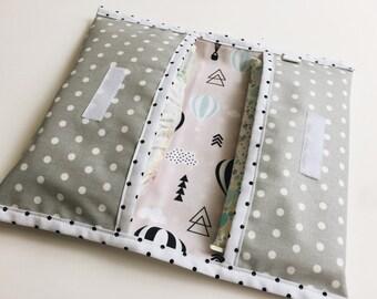 Diaper pouch-small diaper bag-diaper Holder-diaper envelope-baby shower gift-gift for Baby