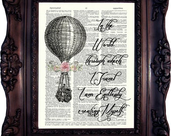 Travel Lover Gift Travel Quote Travel Print Travel Wall Art Travel Best Friend Gift Travel Girlfriend Gift Travel Sister Gift Travel  769