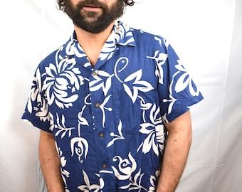Vintage 1950s, 50s Alfred Shaheen Hawaiian Shirt
