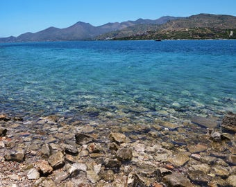 Canvas_061: Elounda Coast, Crete