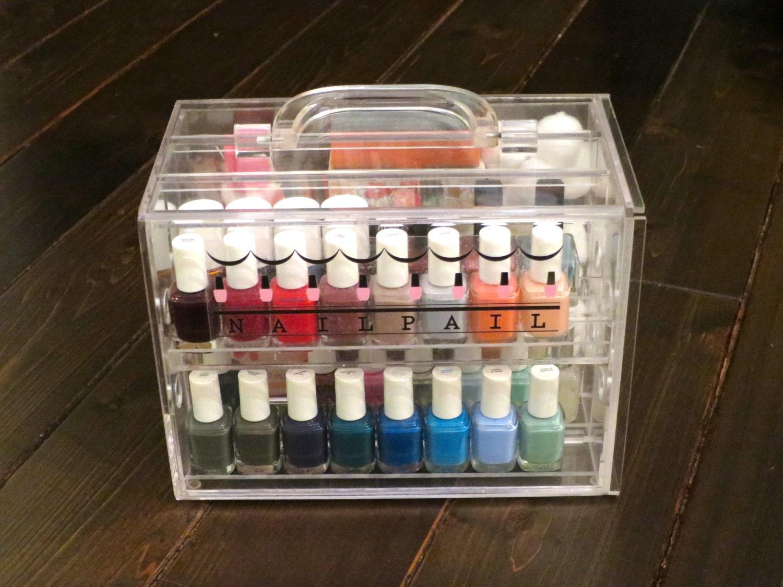 Nail Pail nail polish organizer polish & accessories not