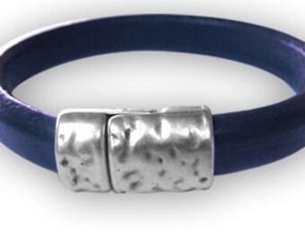 Antique Silver Magnetic Bracelet Clasp (ZM11367)