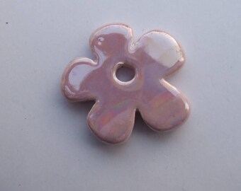 CERAMIC LIGHT 37MM LILAC FLOWER