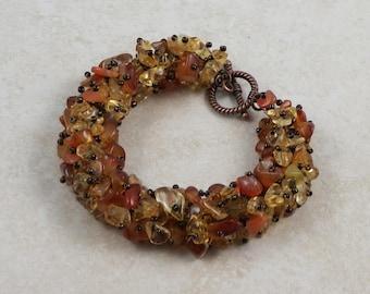 Autumn Trail Gemstone Bracelet
