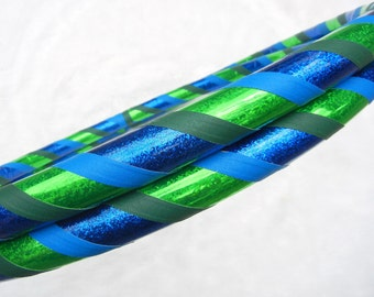 Custom Travel Hula Hoop 'THE Monster' - Fully Customizable - MaDe YOUR Way