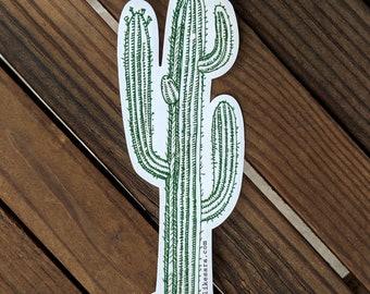 CACTUS - UV-resistant waterproof vinyl diecut decal sticker