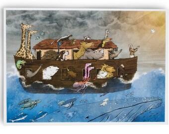 Noah's Hope Giclée Fine Art Print (8x10)
