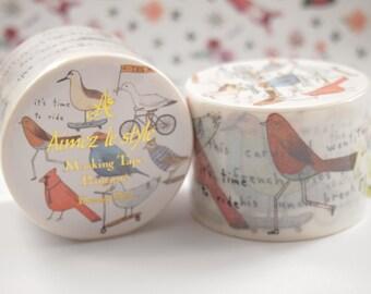 Dreamy Bird Aimez le style Washi Tape (38mm X 7M) 02983