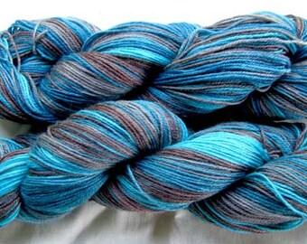 Superwash Merino/Bamboo/Nylon Sock Yarn 430 yards
