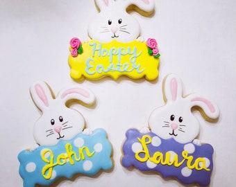 Easter Plaque Cookies