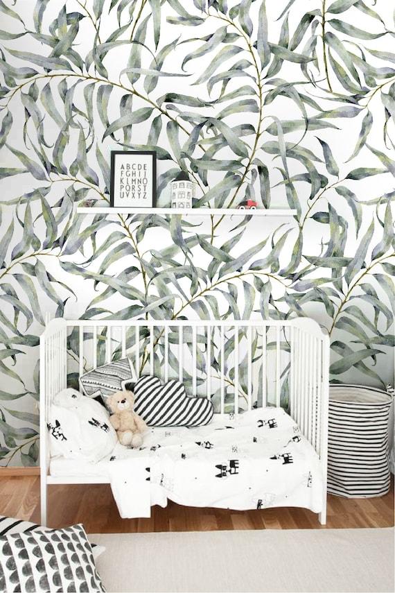 Eucalyptus leaf removable wallpaper Jungle temporary