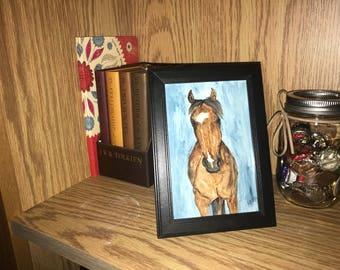 "4""x6"" custom watercolor portrait"
