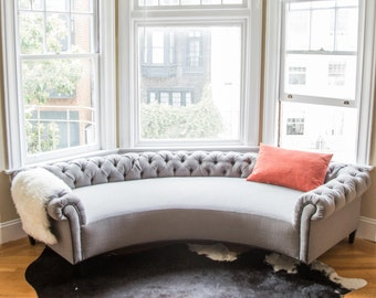 The Chestnut Daybed by Bay Window Sofas