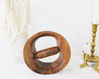 Antique Hat Stretcher // Millinery Tools // Antique Millinery // Modern Victorian // Hat Block // Hat Mold // Wooden Hat Block //