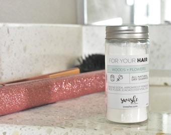 Dry Shampoo | All-Natural Dry Shampoo | No Poo Shampoo | Vegan | Party Favor | Wedding Favor | Gifts Under 10