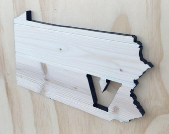 Villanova Wildcats Pennsylvania State Wood Cutout