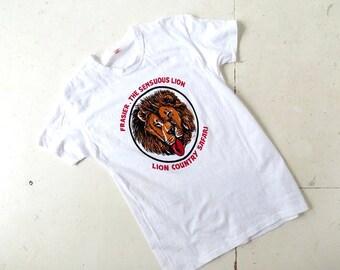 Frasier the Sensuous Lion | 70s TShirt | 1970s T Shirt | M L