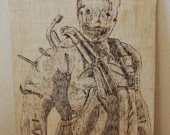 Pyrography Trapper Dead By Daylight