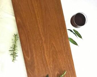 Handcrafted wood serving platter, antipasto platter, large serving tray