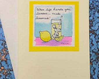 """Lemons and Lemonade~ """"When Life Hands You Lemons...Make Lemonade!"""""""