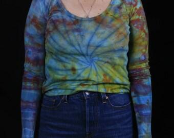 Hand Dyed Long Sleeve Shirt