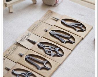 Scissors Sewing Supplies DIY Manual Yarn Cut Thread Scissors Sets-5Pcs