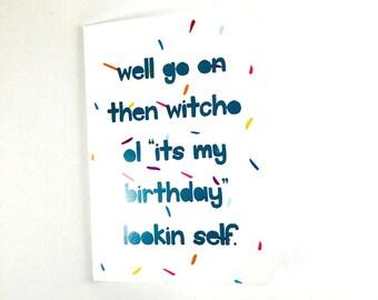 Happy Birthday. (Witcho)