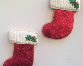 Stocking Cookies