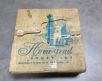 Homestead snack set