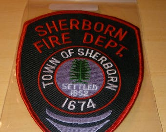 TOWN OF SHERBORN Fire Dept Patch