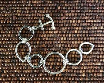Heavy links mans bracelet