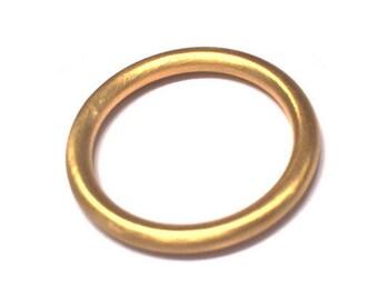 22k 3mm Full Round Band/Ring (wedding band)