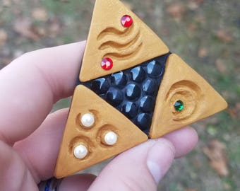 Legend of Zelda inspired Triforce Magnet