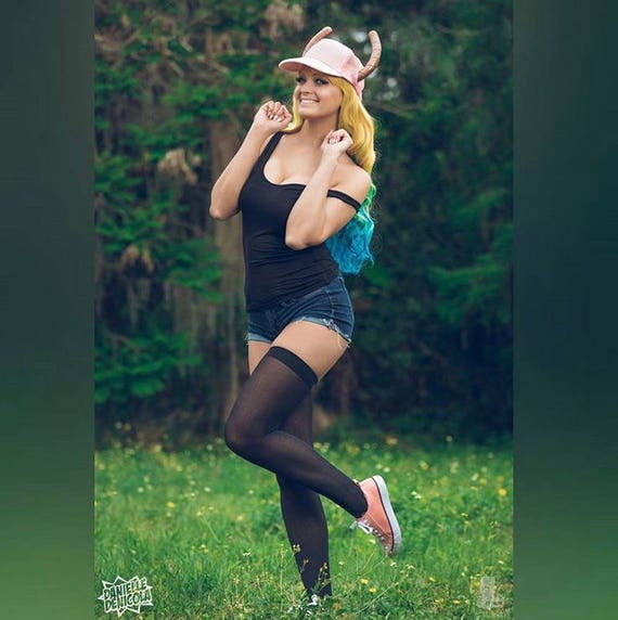 Lucoa Horns and Hat Combo from Miss Kobayashi's Dragon Maid 0UeGY5UCNG