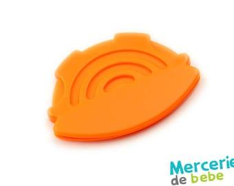 Large decorative element Orange sewing - B42 - O5