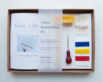 Coptic Bookbinding Kit - Barcelona