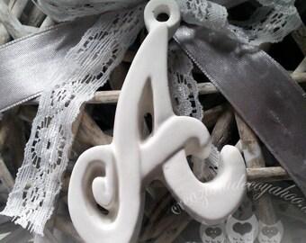 fragrant Chalks 10 letters A to z, alphabet italic