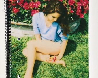 Custom Lana Del Rey Notebook ; UV