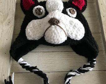 Dog Hat - Boston Terrier Hat - French Bulldog Hat