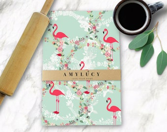Flamingo Tea Towel, Mum Tea Towel, Dish Cloth, Flamingo Tea Towels, Flamingo Pattern Tea Towel, Mothers Day Gift Boxed, Kitchen Decor,