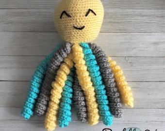 Preemie/Baby Crochet Octopus
