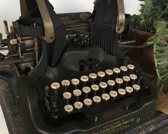 Antique Oliver No. 9 Typewriter
