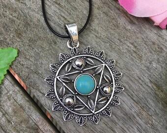 Chakra Necklace, Throat Chakra, Chakra Jewellery, Boho Jewellery, Gifts