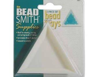 Beadsmith Bead Trays 3pc Set
