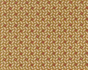 RJR Fabrics Briarcliff 1673 1 Tan Dashes By The Yard