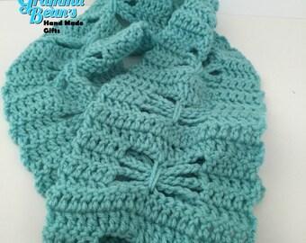Butterfly Dreams Crochet Scarf