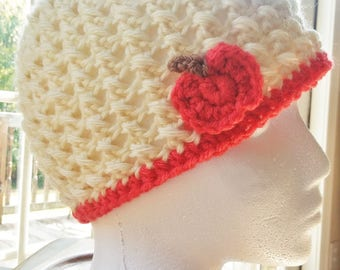 Cute as a Punkin' Crochet Beanie