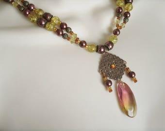 Copper Necklace, boho jewelry bohemian jewelry hippie jewelry gypsy jewelry new age hipster gypsy necklace boho necklace bohemian necklace