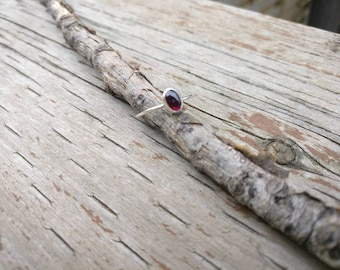 Garnet Lost & Found Ring - ready to ship size 6