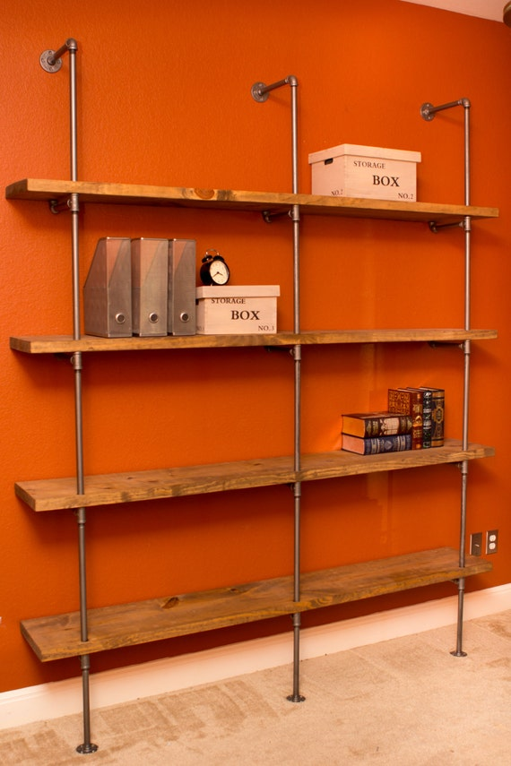 Pipe Shelving Unit The Original Pipe Shelving Bookcase